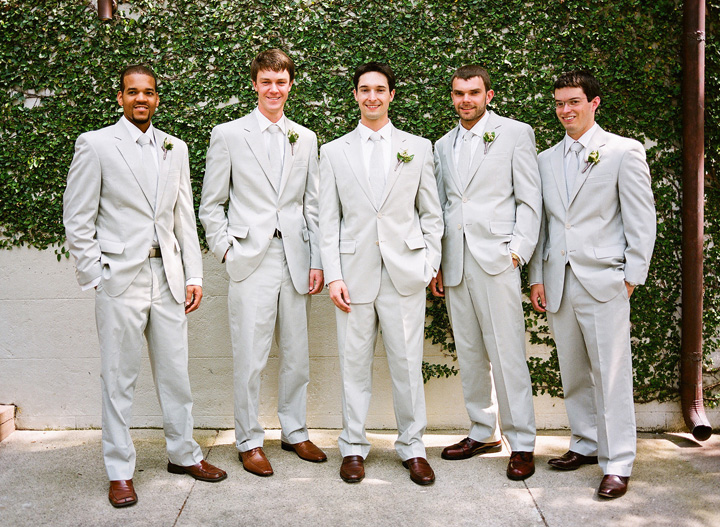 Charleston Garden Wedding by Veil and Bow, Part I - Southern Weddings