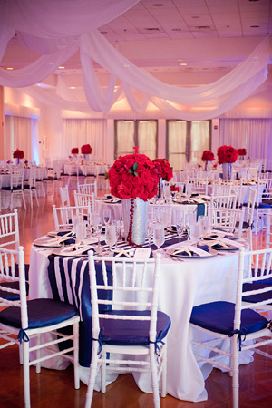 red and blue wedding ideas Archives - Southern Weddings