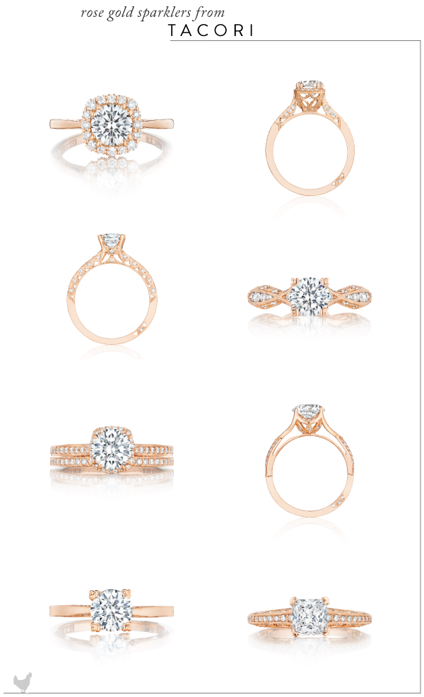 Engagement Ring Inspiration from Uneek Natalie K and Tacori