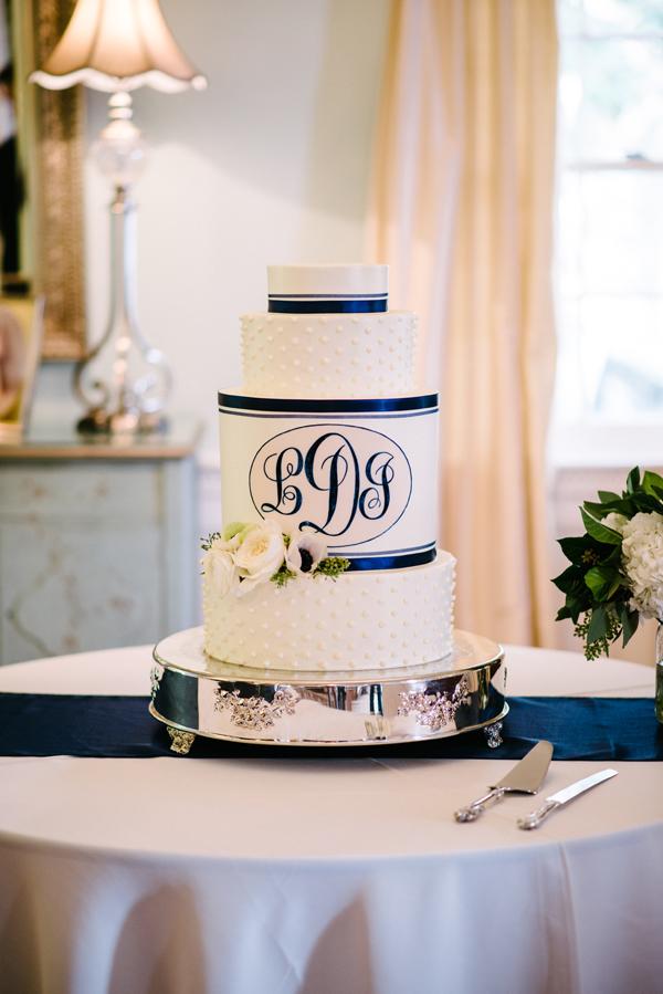 monogram cake archives southern weddings