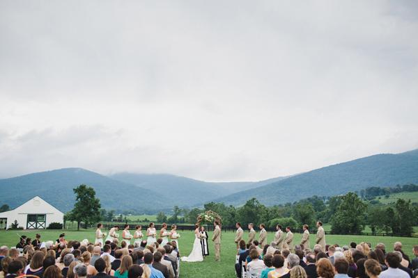Southern Wedding King Family Vineyards
