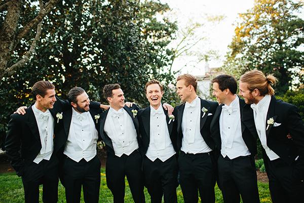White Tie Wedding