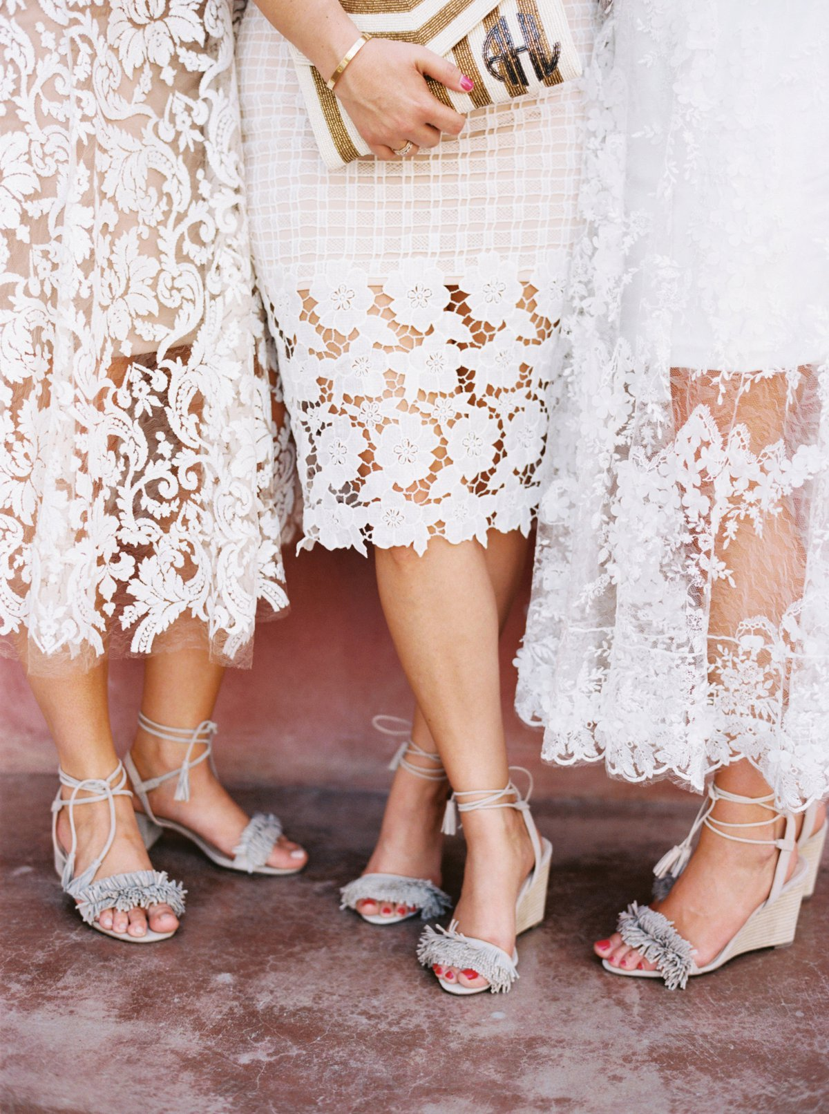 Colorful Texas Wedding By Hannah Mayson Southern Weddings Magazine Little Fresco Pink Bowie Shoes What Were Some Of The Most Meaningful Or Special Parts Your Ceremony My Uncle Whom I Am Very Close With Is A Pastor So We Knew Wanted Him To Do